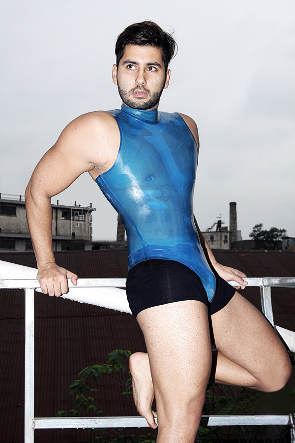 "Mens ""Leotard"" style Body Suit"
