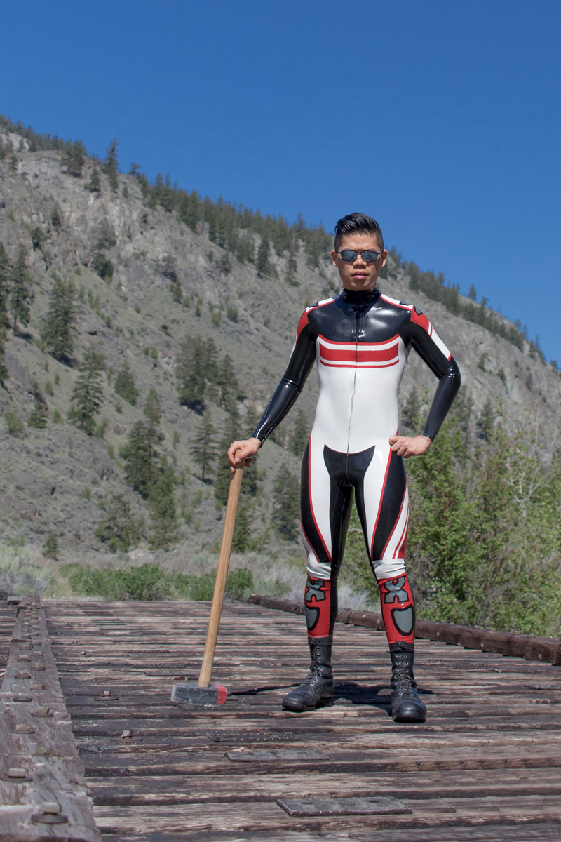 Custom Moto Suit CANV17238