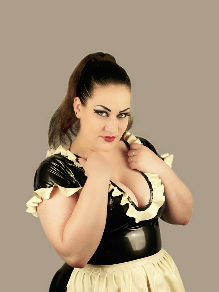 Latex Dress Maid Love