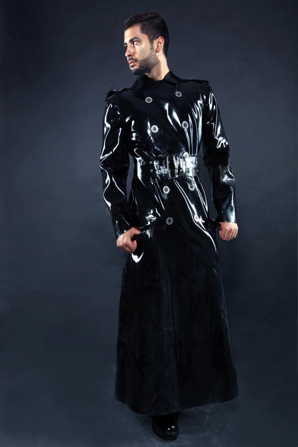 """Military """"Epaulette"""" Style Long Coat"""