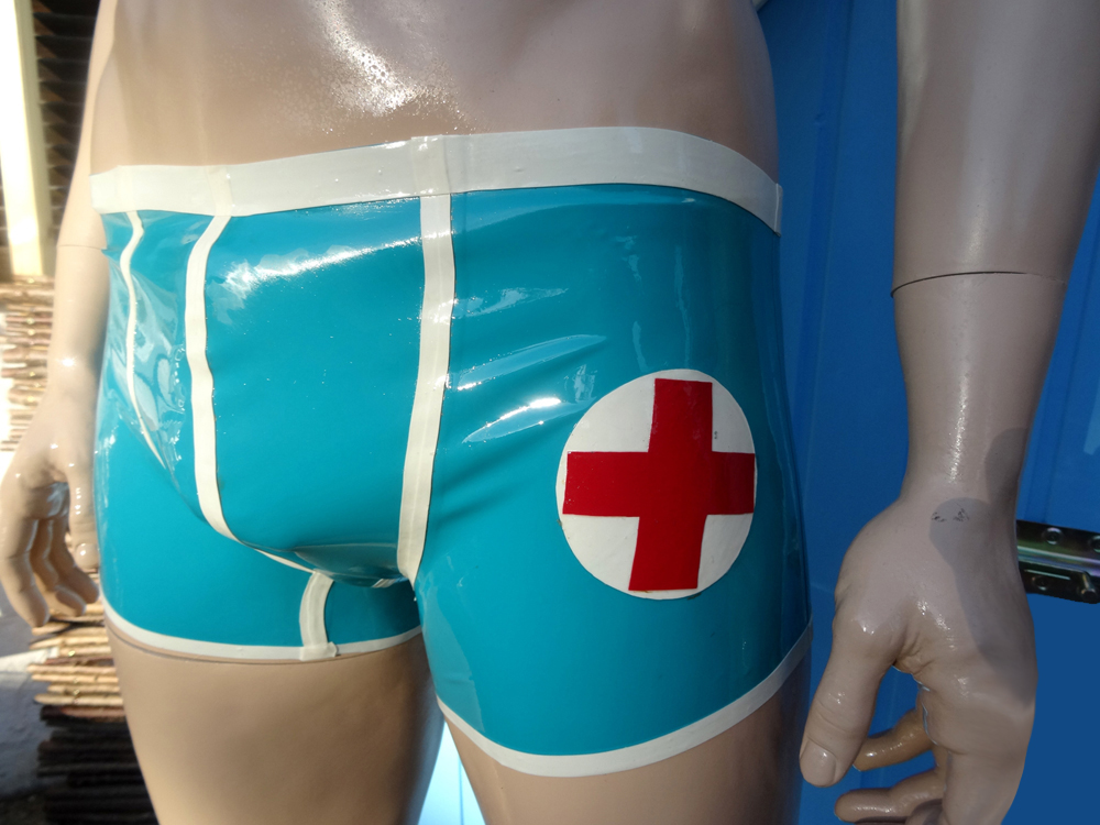 Latex Shorts Mister Doctor