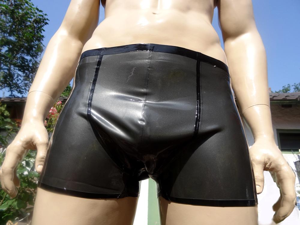 Latex Shorts Basic Man