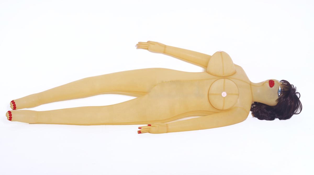 new latex doll