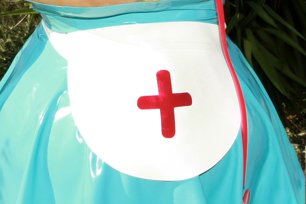 Latex Apron Nurse
