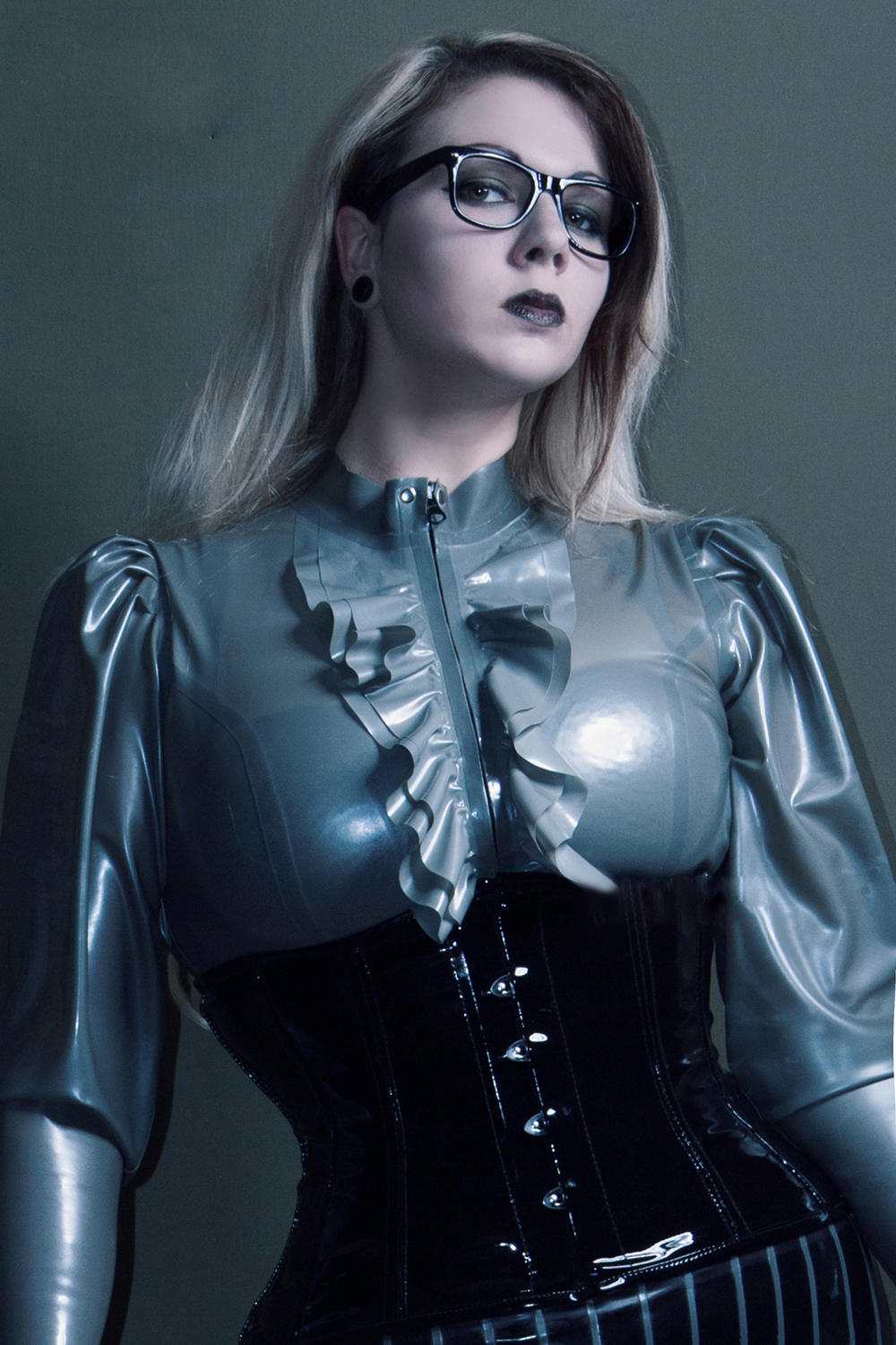Latex Blouse Lady Goddess
