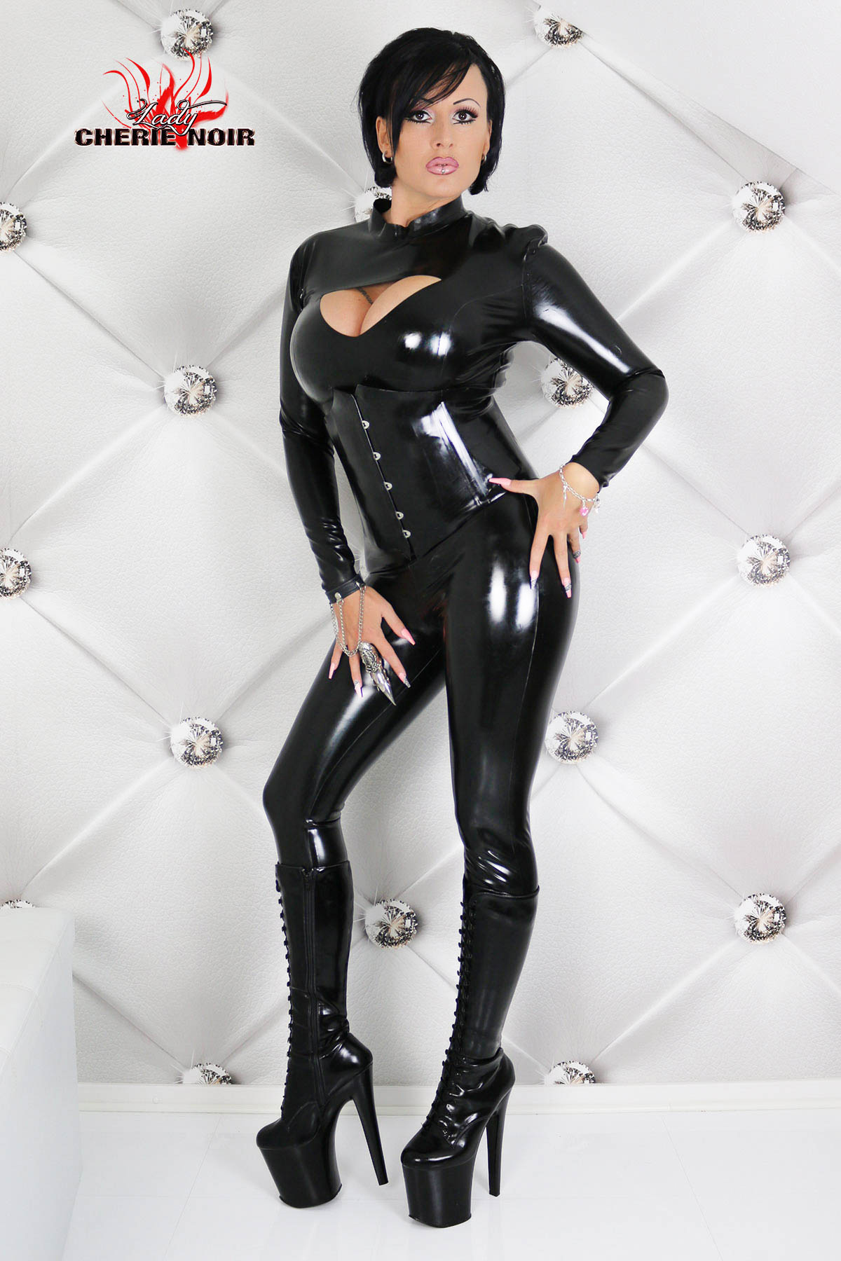 Latex Catsuit Miss Cherie